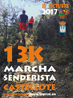 geopark maestrail trail geoparque maestrazgo castellote teruel 2017 senderista