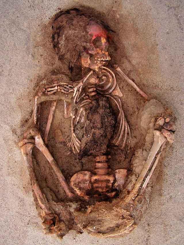 Tulang Belulang Korban Ritual