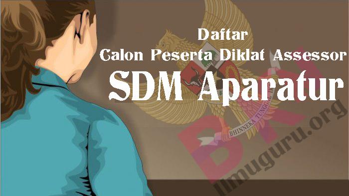 Peserta Diklat Assessor SDM Aparatur