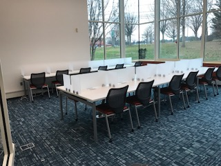 Quiet Room Study Tables