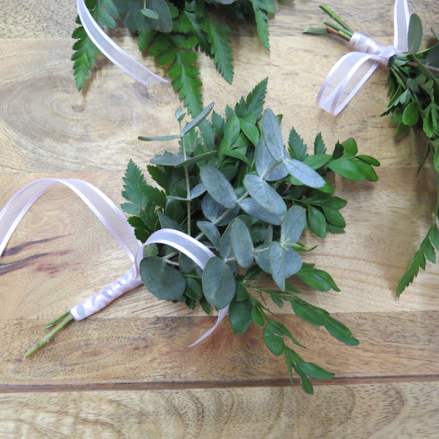 How to make a gorgeous Boutonniere quickly and inexpensively