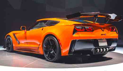 2019 Chevrolet Corvette ZR1 Cost