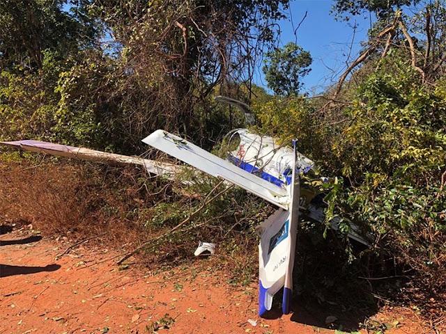 Avião com Wilson Martins e Rodrigo faz pouso de emergência no interior do Maranhão