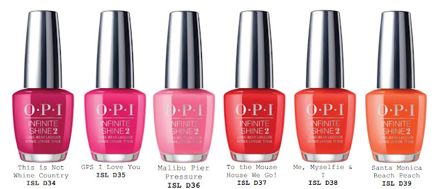 Opi California Dreaming Collection Summer 2017 Everything2k