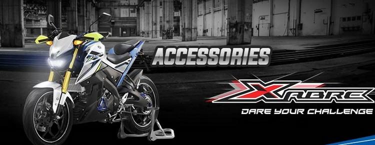 Harga Aksesoris Yamaha Xabre