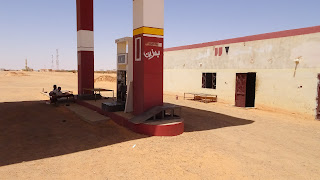 Gas station in Sudan have no petrol