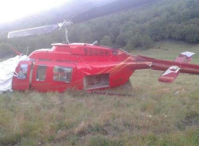 Cuatro muertos y dos heridos graves en accidente de helicóptero en Chile