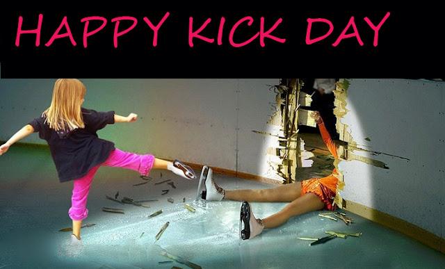 kick day whatsapp status