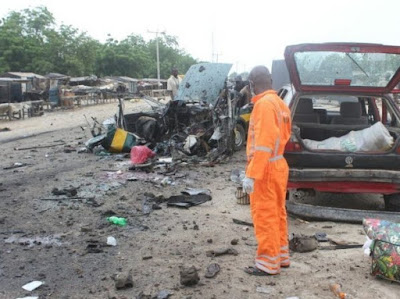 Bomber kills UNIMAID professor, 4 others