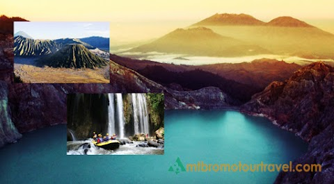 Ijen Crater, Bromo Songa Rafting Tour Package