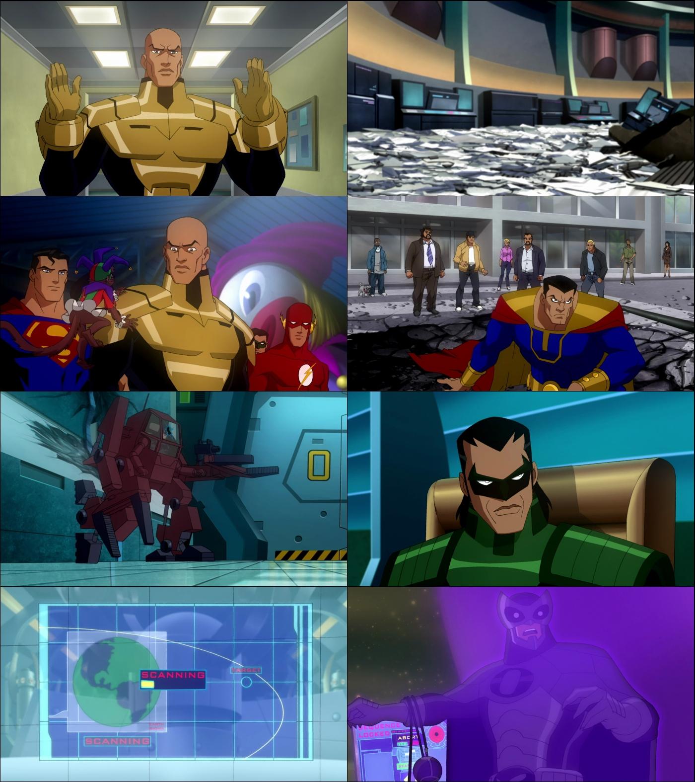 Liga de la Justicia Crisis en dos Tierras 1080p Latino