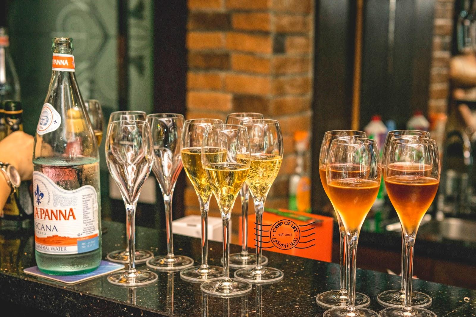 Vino Vino Bistro Champagne Brunch Bay Avenue Bayan Lepas