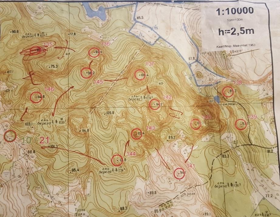 54a8579849c Holstre-Polli 1963. Olen sellisest kaardist näinud vaid ühte hullemat. See  on Otepää Apteekrimetsa kaart.
