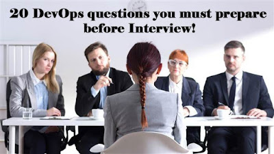 20 DevOps questions you must prepare before Interview