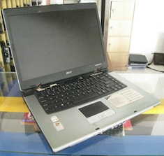 jual acer travelmate 4200 second