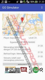 Tutorial Cara Menggunakan Go Simulator v1.12.2 Apk di Android