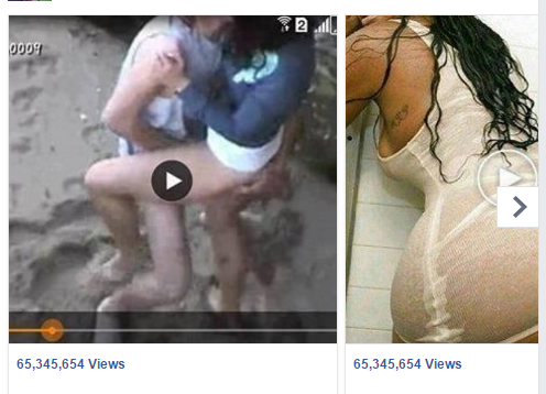 Sex video facebook