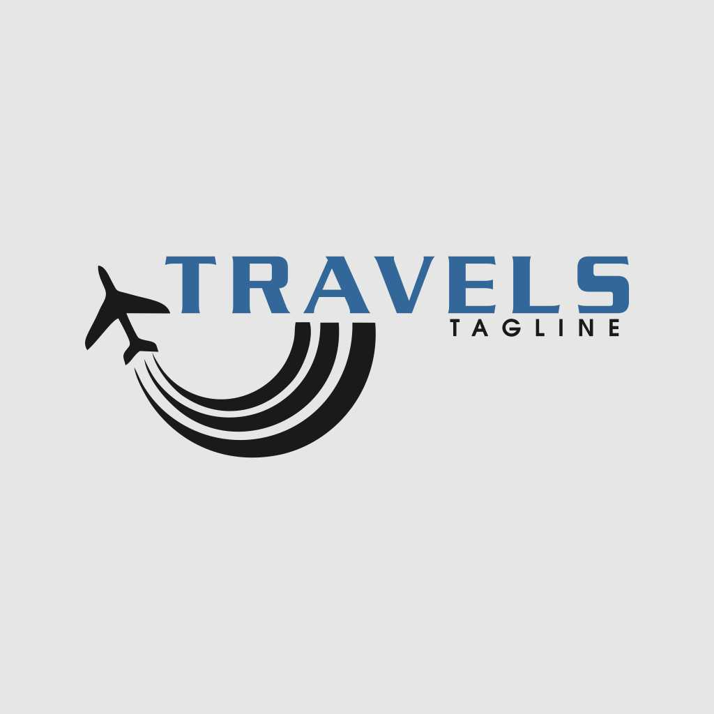 Design Of Travel Company Logo Template Free Download Vector CDR, AI, EPS and PNG Formats