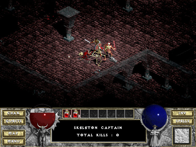 Diablo 1 Blizzard Captura de pantalla 8