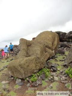 moai caído