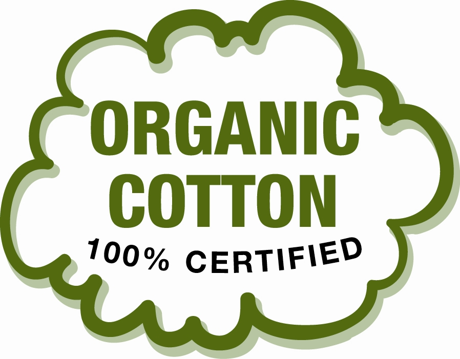 The use of any organic cotton is a great first step, but in order to be sure a product really is organic from field to finished product, look out for either the Global Organic Textile Standard (GOTS) symbol, the Soil Association symbol or the Organic Exchange symbol.