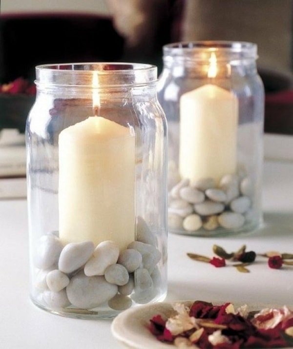 DIY Decor Easy Candle Decorating Ideas - Home Decorating Tips 2