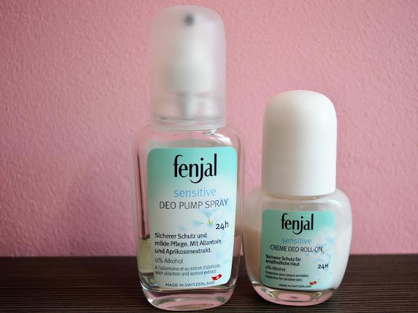 Fenjal - antiperspiranty pre citlivú pokožku