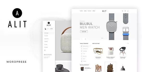 Minimalist Responsive Woocommerce Theme Free Download Alit v1.5 – Minimalist Responsive Woocommerce Theme Download