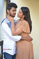 Khayyum, Gourav, Madhulagna Das, Athiya, Sekhar at Chandra Danger Love Story Press Meet  0019.jpg