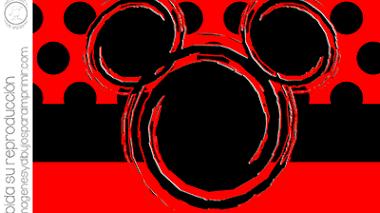 Invitaciones de mickey mouse para imprimir 🎉