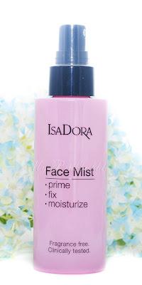 Isadora 3 en 1 Face mist