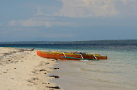 Badoc Island Outrigger Motorized Boats Ilocos Norte Philippines