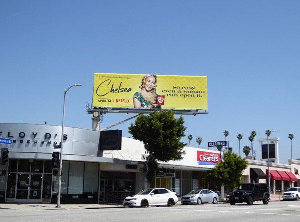 Chelsea season 2 yellow billboard West LA
