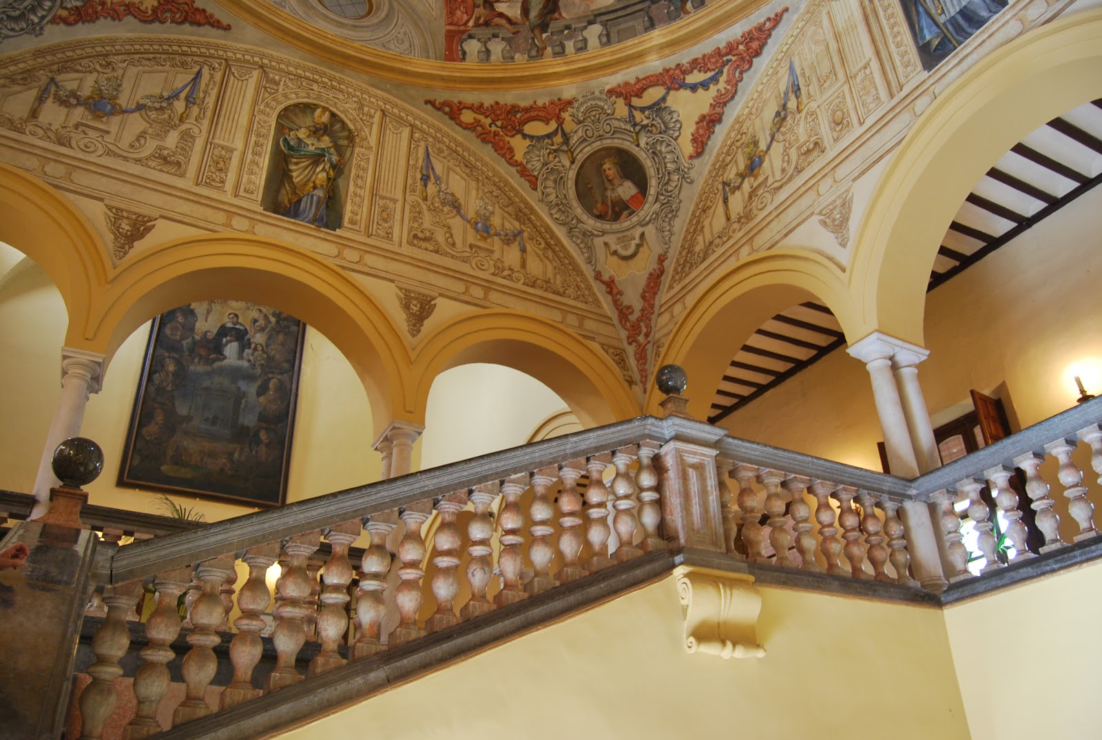 arzobispado sevilla escalera