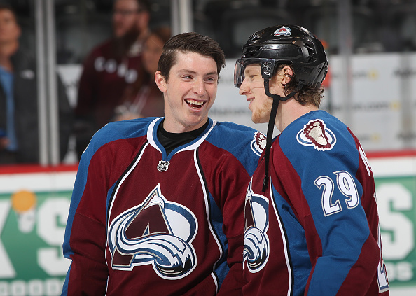 Matt Duchene and Nate MacKinnon