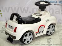 Ride-on Car Pliko PK536 Mini Cooper Mobil Mainan Anak
