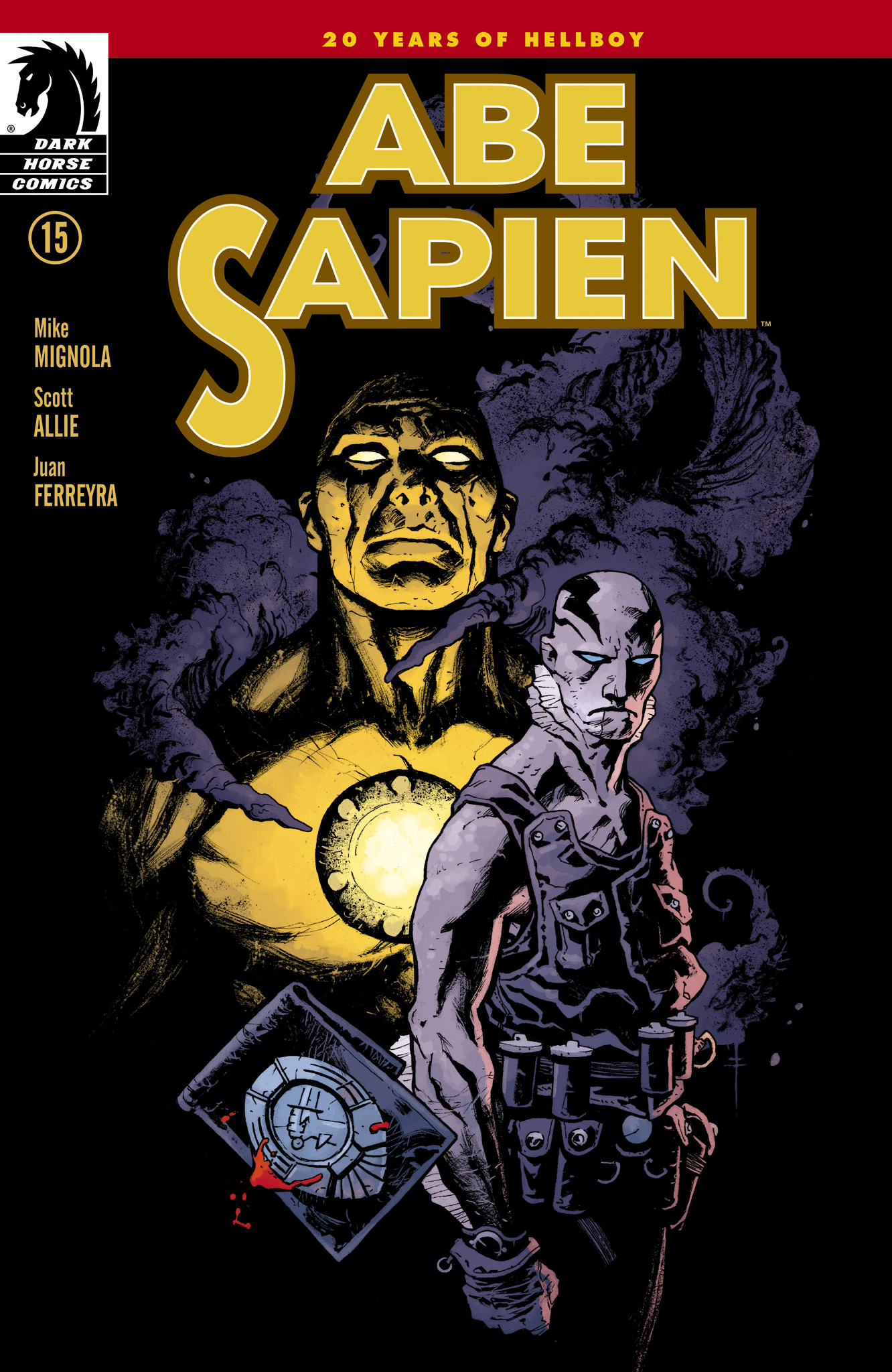 Read online Abe Sapien comic -  Issue #15 - 1