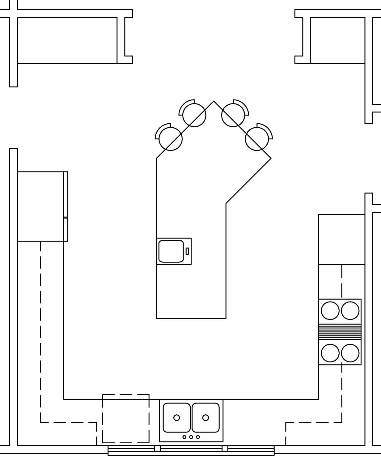 kitchen design miraculous small l shaped kitchen designs layouts l kitchen layout design Kitchen Layouts Ushape Island