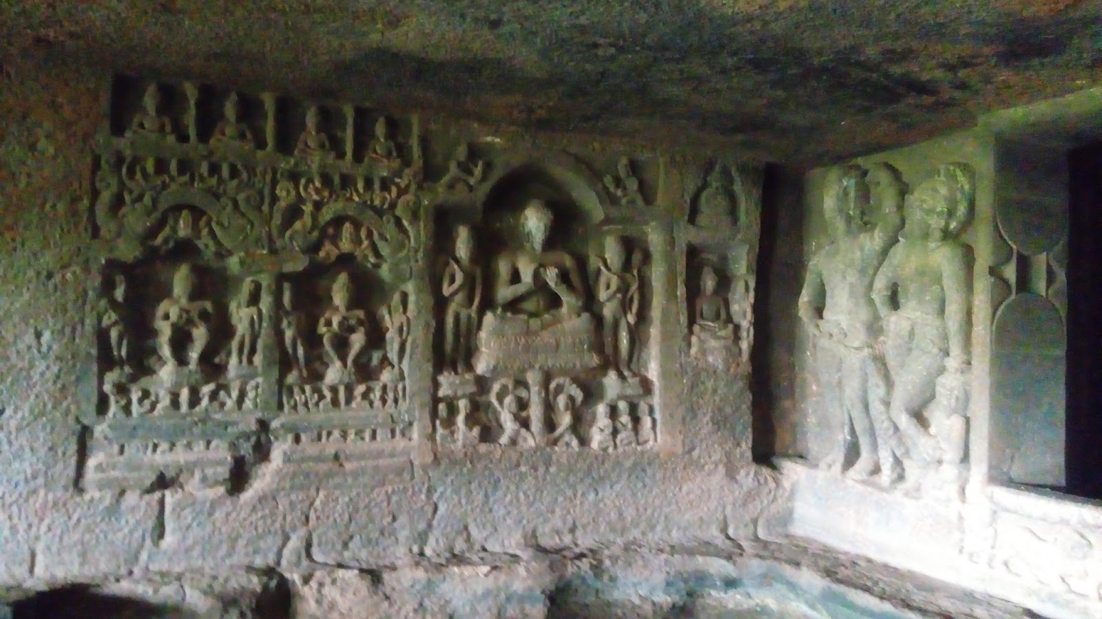 Kude caves located in rahatgad tala taluka raigad