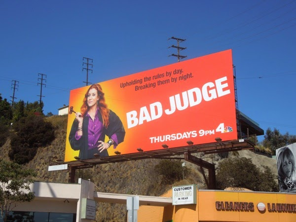 Bad Judge season 1 billboard