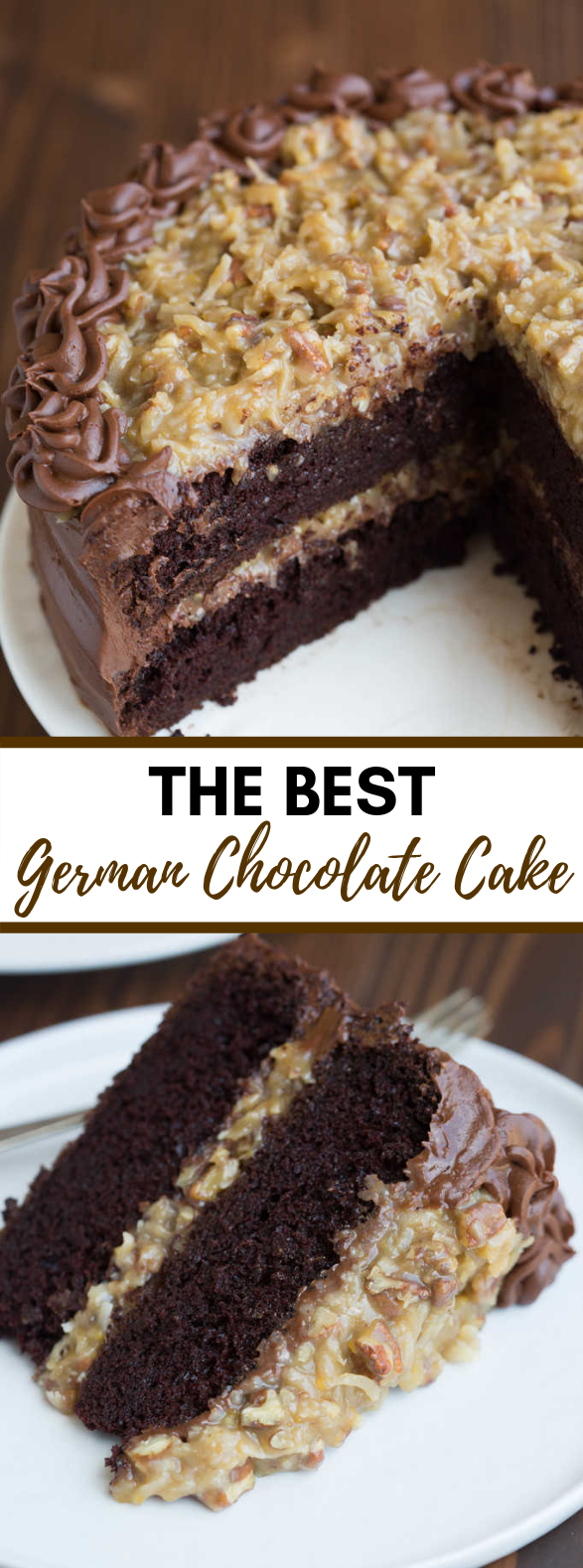 GERMAN CHOCOLATE CAKE #dessert #choco