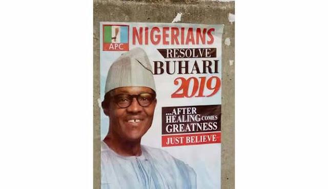Buhari's Campaign Posters