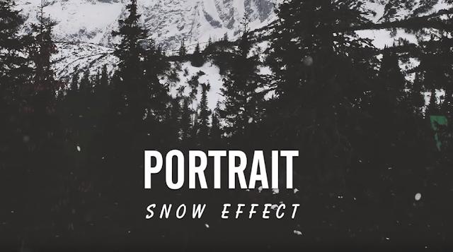 Создание реалистичного падающего снега в Фотошопе