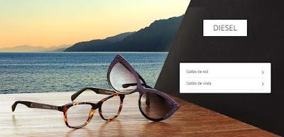 oferta de gafas de sol diesel junio