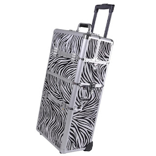 zebra makeup case