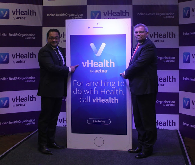 AETNA INTERNATIONAL ANNOUNCE THE GLOBAL LAUNCH OF DIGITAL PRIMARY HEALTH CARE SERVICE, 'vHEALTH BY AETNA'