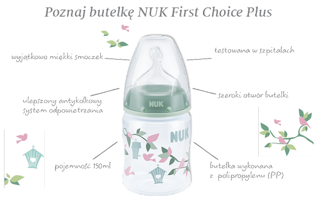NUK First Choice +