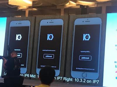 Keenlab iOS 10.3.2/ iOS 11 beta has been jailbroken [Photos] iPhone Jailbreak