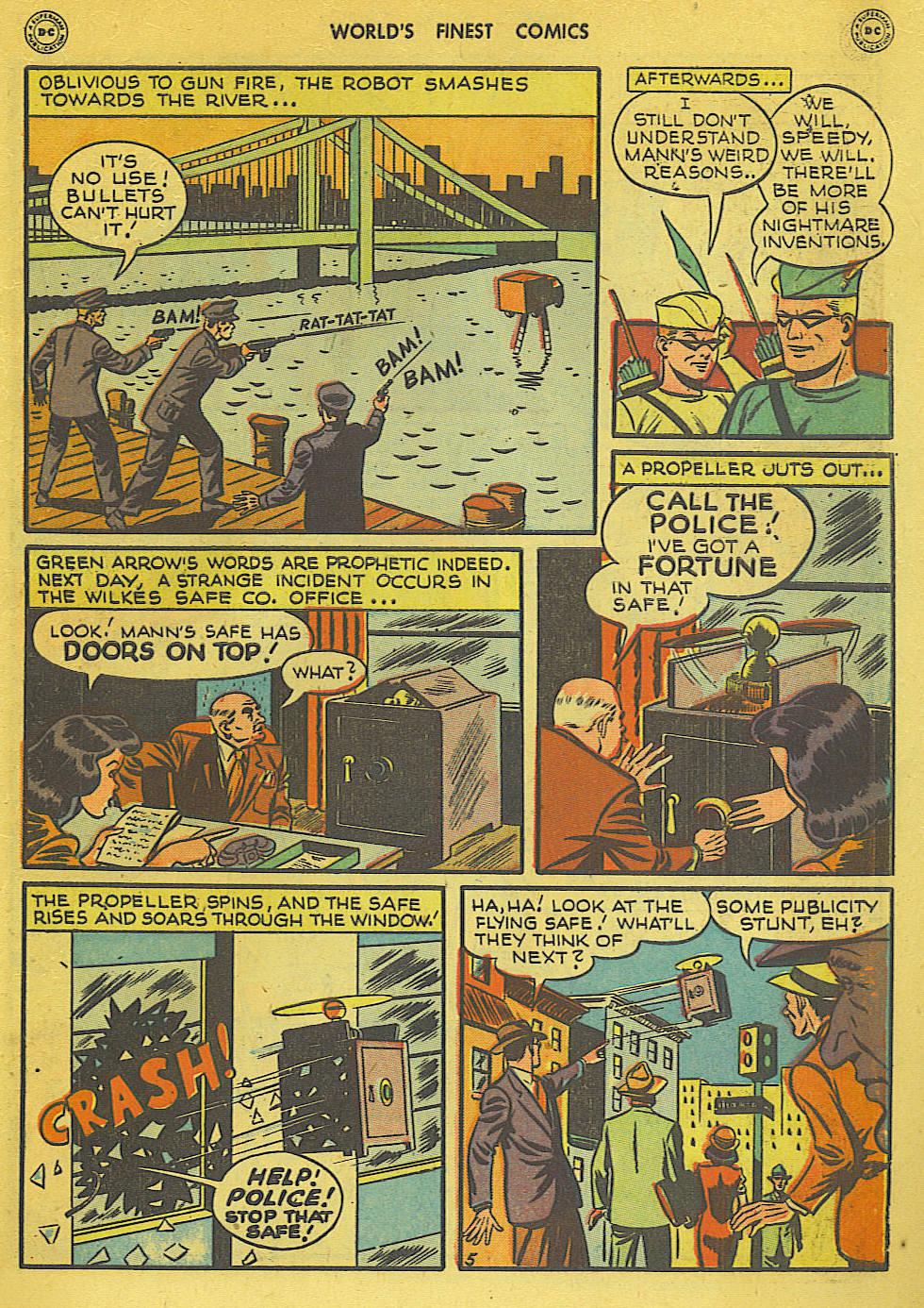 Read online World's Finest Comics comic -  Issue #34 - 45