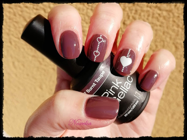 Noxelia Stamping Nail Art Look De Uñas Nº 488 Corazones
